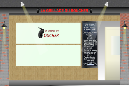 Grillade du Boucher Couverture